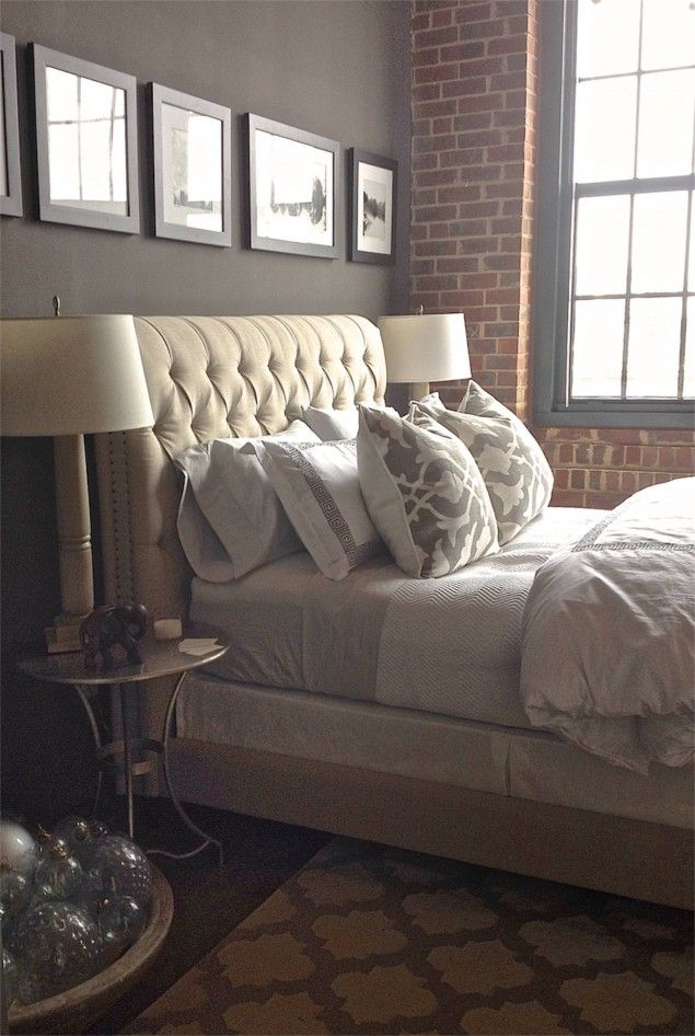 The Luxe Lifestyle Master Bedroom Reveal: LOFT MEETS LUXE, A MASTER BEDROOM REVEAL