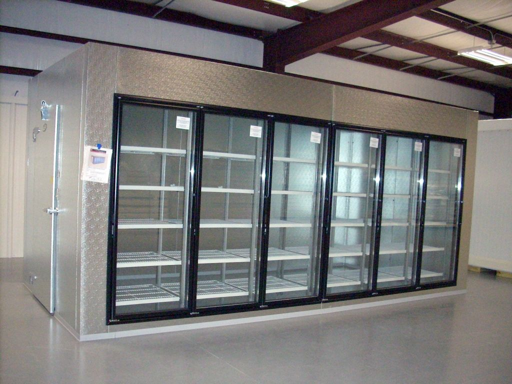 Walk-In Display Coolers | New Display Walk-In Cooler with ...