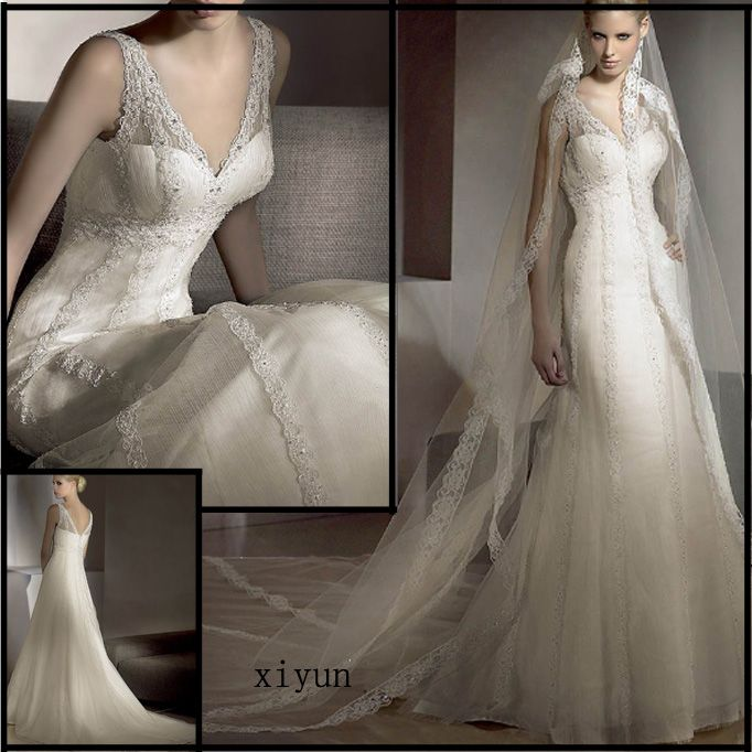 lace wedding dress | White-Lace-Wedding-Gown-Bridal-Gown.jpg ...