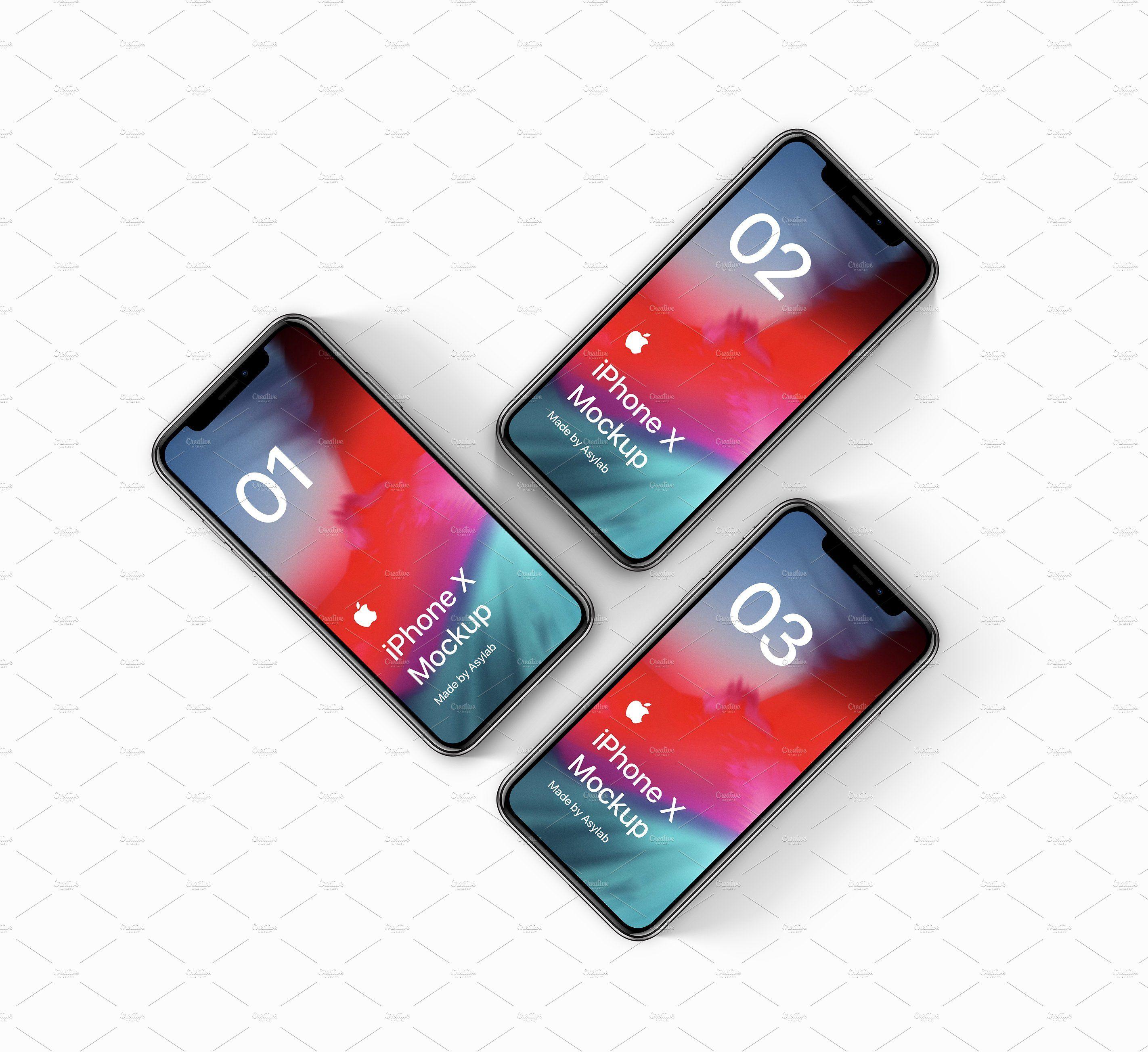 Phone X 16 Mockups Iphone mockup, Mockup, Iphone