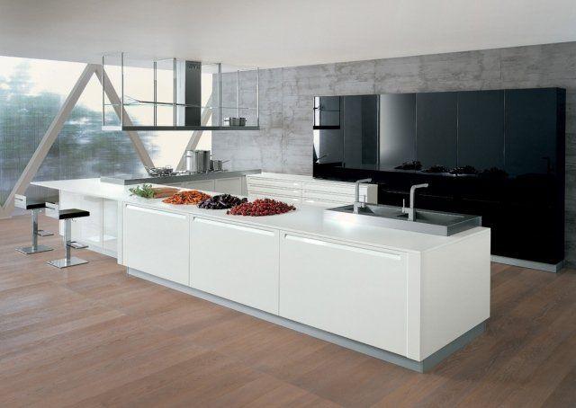 Îlot central cuisine fonctionnel - 30 photos et conseils utiles