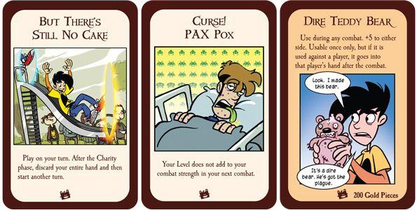 Munchkin Penny Arcade extra cards - sample cards Random - sample cards