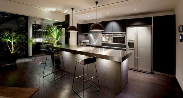 plan de cuisine fonctionnelle 105 id es pratiques et utiles cuisine pinterest armoire. Black Bedroom Furniture Sets. Home Design Ideas