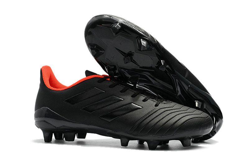 679f382ff194 FIFA World Cup Russia 2018 Men Adidas Predator 18 4 FG Soccer Cleats Black  White Orange | Best Quality Jordans Shoes | Adidas predator, Soccer Cleats,  ...