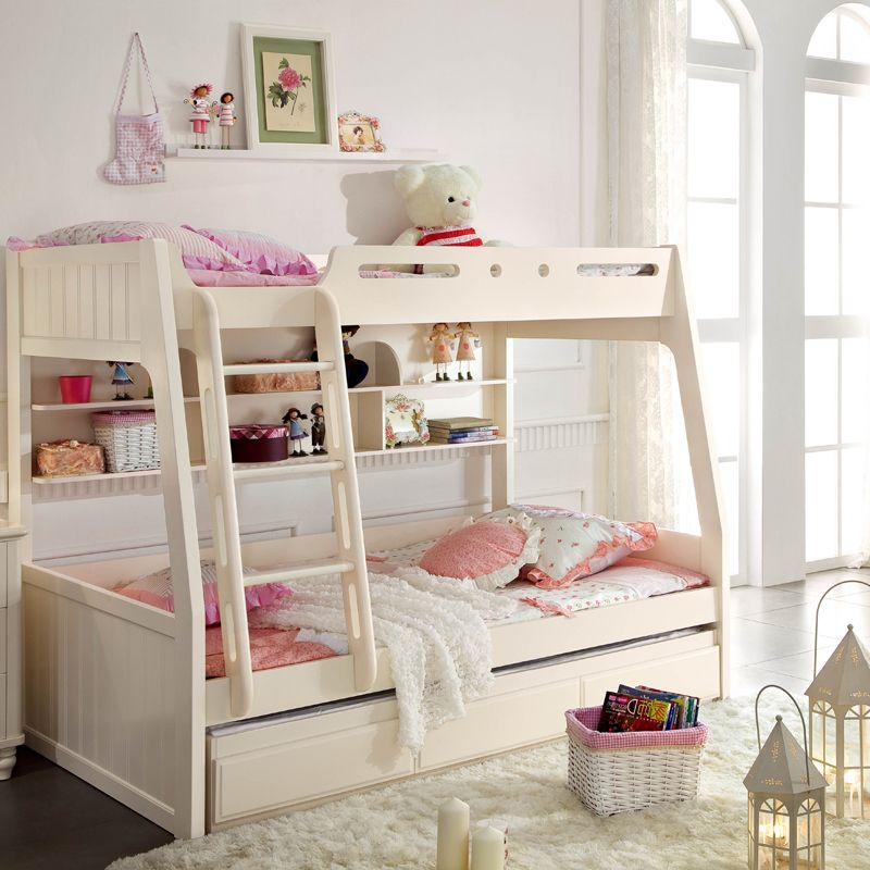Korean countryside minimalist modern style bunk bed bed bunk ...