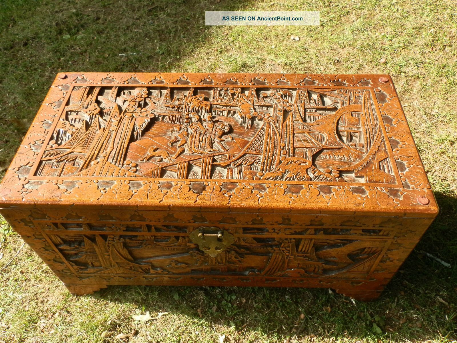 African carved tables