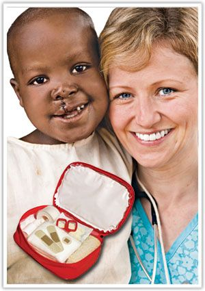 Just $30 USD provides a post-op care kit to a young patient to ensure proper healing and a healthy #smile after a life-changing surgery. #OperationSmile