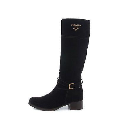 PRADA Suede Tall Boots 38 Brown 148061 https://t.co/7ZPixK77EO https://t.co/Fwfb60yRLB