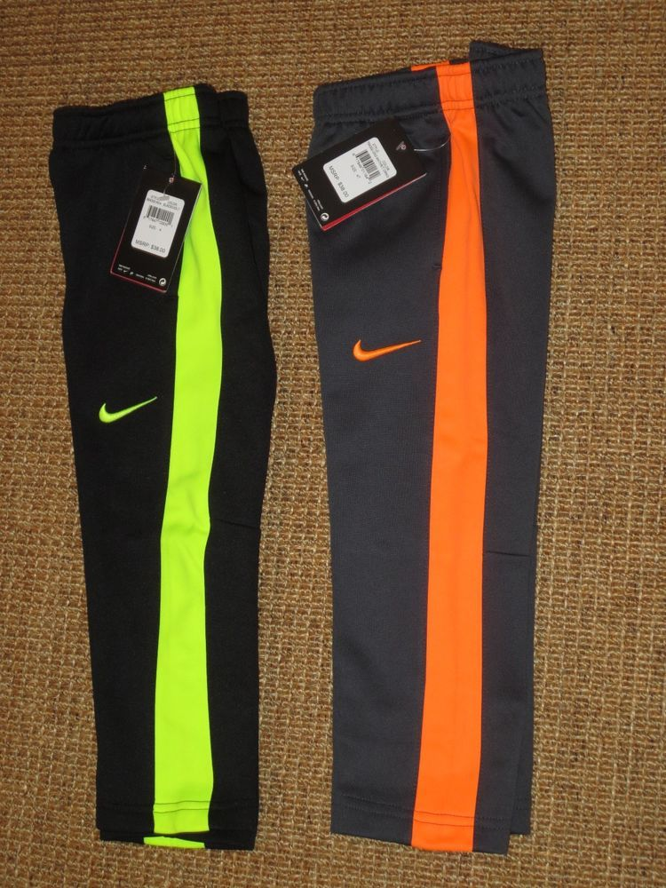 New nike boys 4 4t therma fit tracksuit pants bottoms