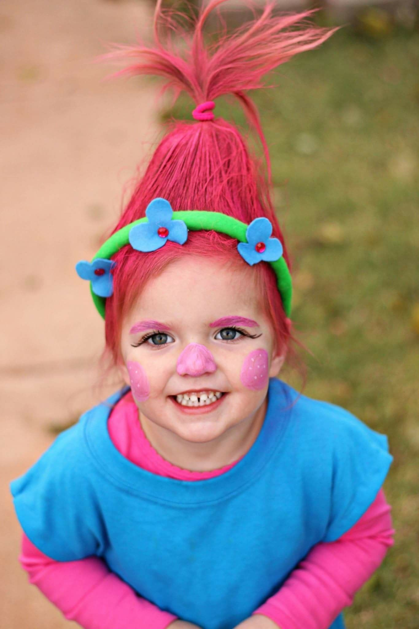 princess poppy. trolls. diy halloween
