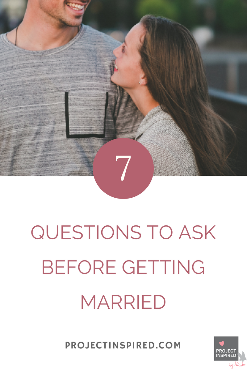 Questions a christian should ask before dating