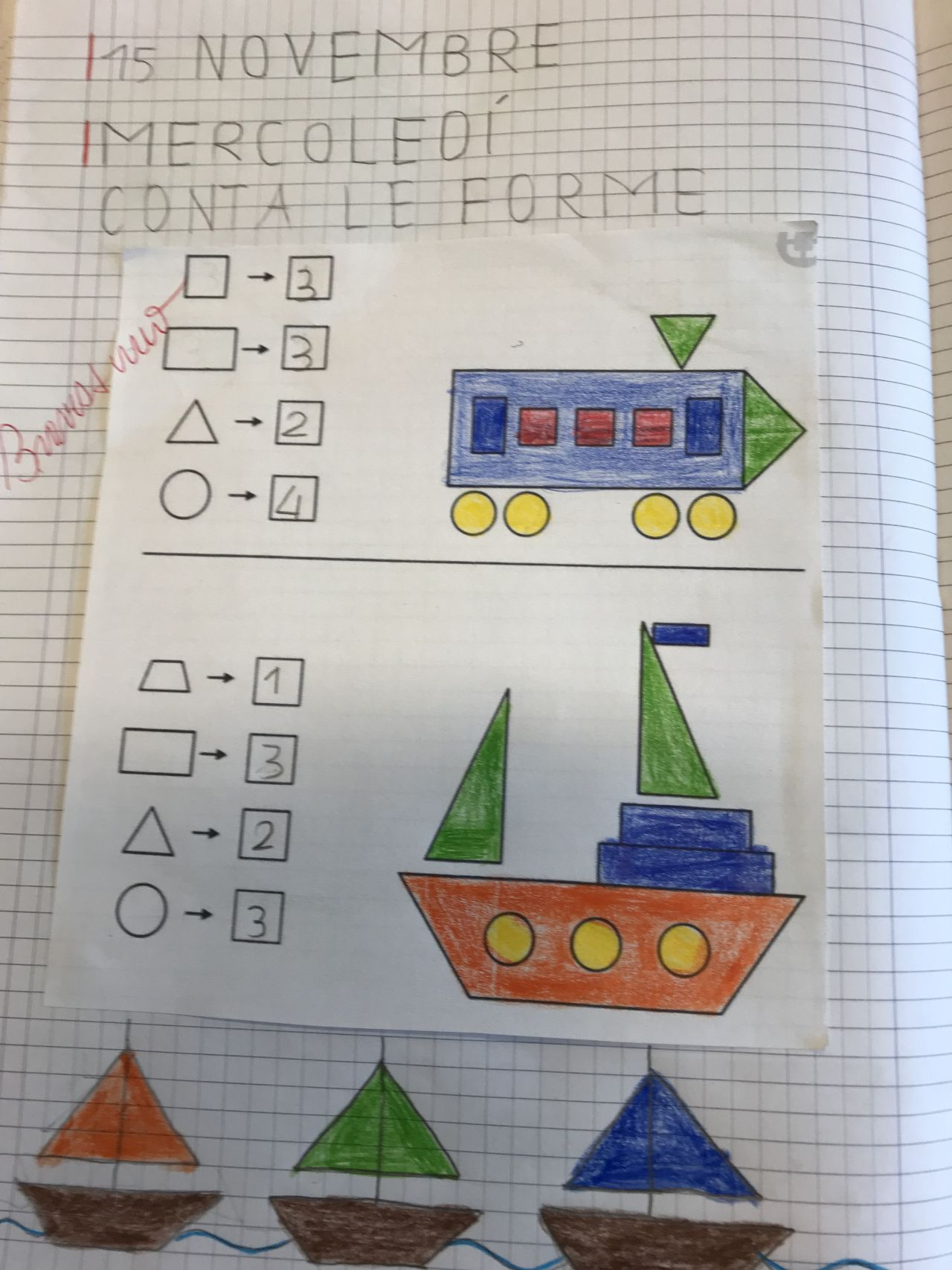 Le Forme Geometriche Classe Prima Maestra Mihaela