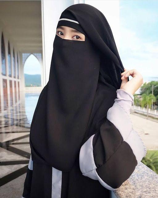 Poto Wanita Bercadar : wanita, bercadar, Orang, Cantik, Muslimah, Bercadar