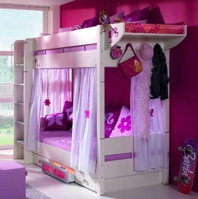 20 Disenos de camas para ninas
