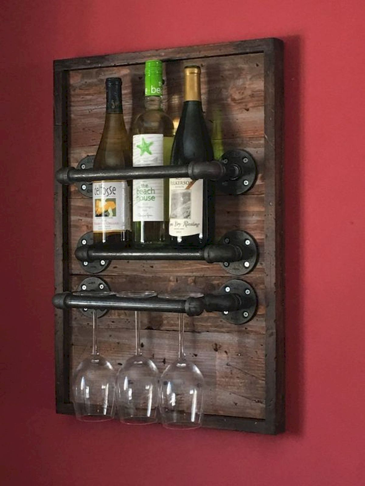 60 Easy Diy Wood Projects For Beginners 1 Doityourzelf In 2020 Reclaimed Wood Diy Woodworking Projects That Sell Rustic Wine Racks