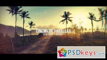 Cinematic Parallax Slideshow 20481472 After Effects Template