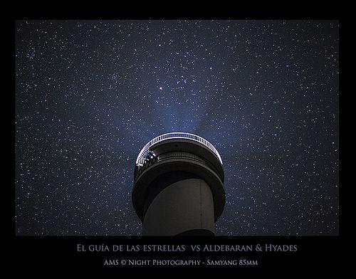 El guía de las estrellas vs Aldebaran & Hyades.