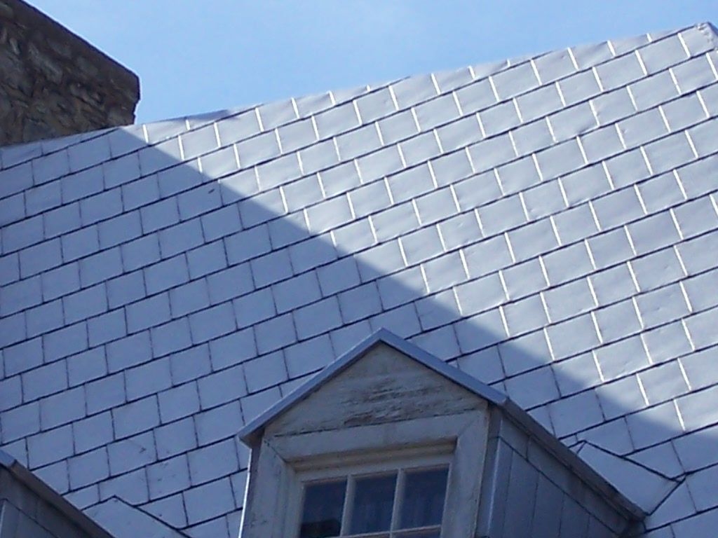 Zinc Roof Tiles Amp 50 Years Metal Roofing Zinc Roof Tile