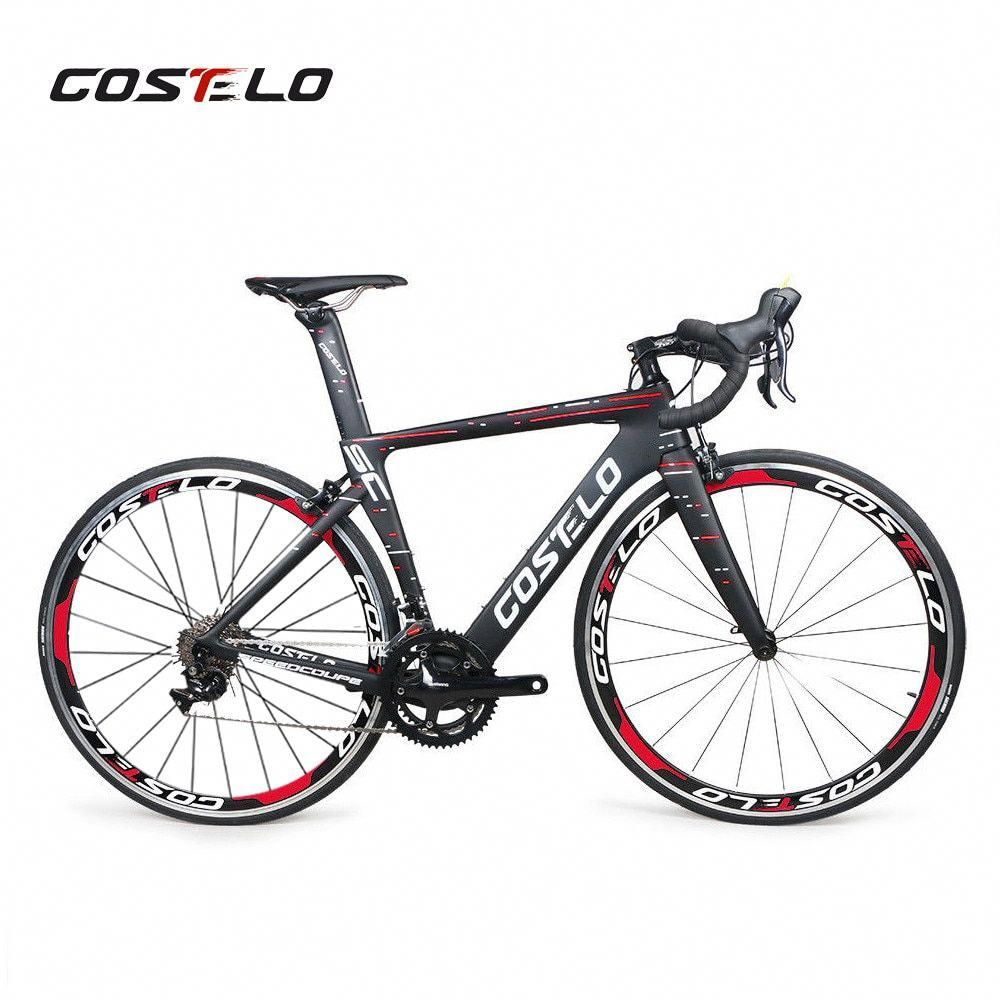 Costelo Speedcoupe Full Carbon Fiber Road Bike Frame Complete Bicycle With 40mm Wheels Group Cheap Bike Free Ship In 2020 Bike Riding Benefits Bicycle Road Bike Frames