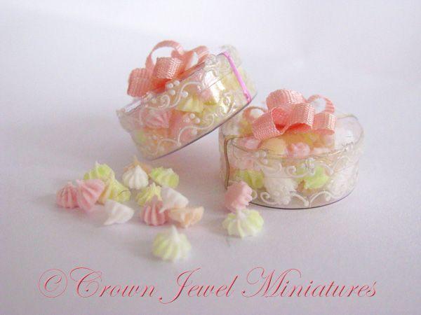 Crown Jewel Miniature's meringue boxes