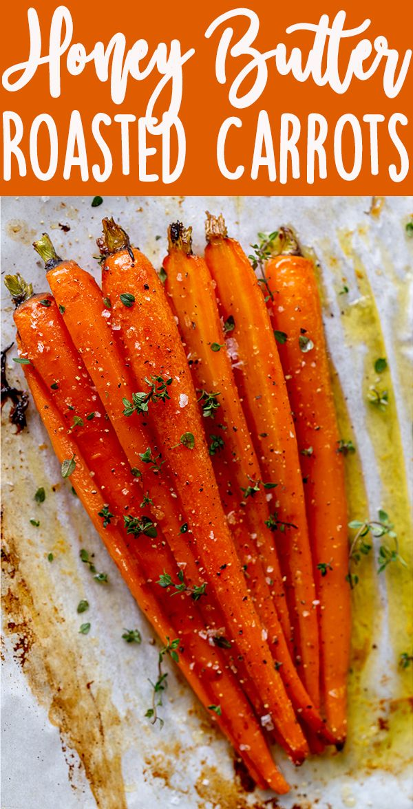 Honey Roasted Carrots images