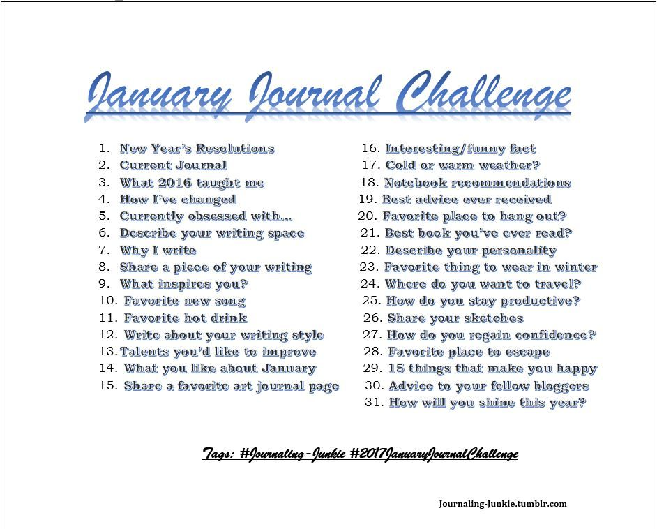 new year writing prompts Now that we're more than a week in to the new year, i can already see some of those resolutions starting to fade (i ate a giant bag of doritos last night—so much for the calorie counting) that's why it's important to get help whenever possible to keep your goals in site (i had my wife take.