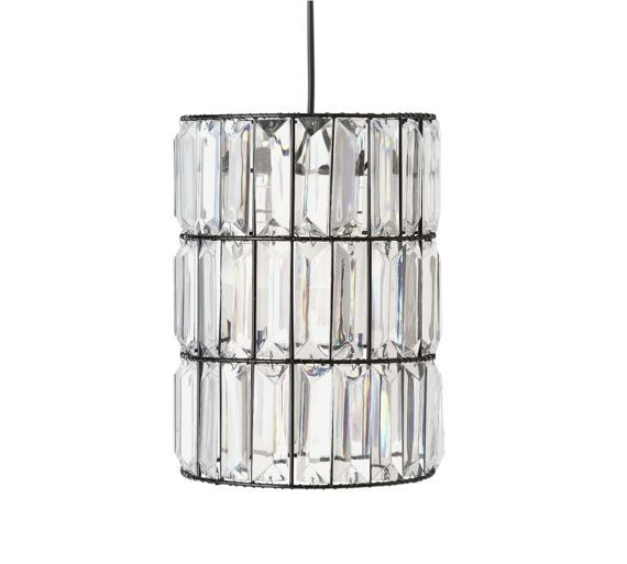 buy collection bari clear blocks lampshade at. Black Bedroom Furniture Sets. Home Design Ideas