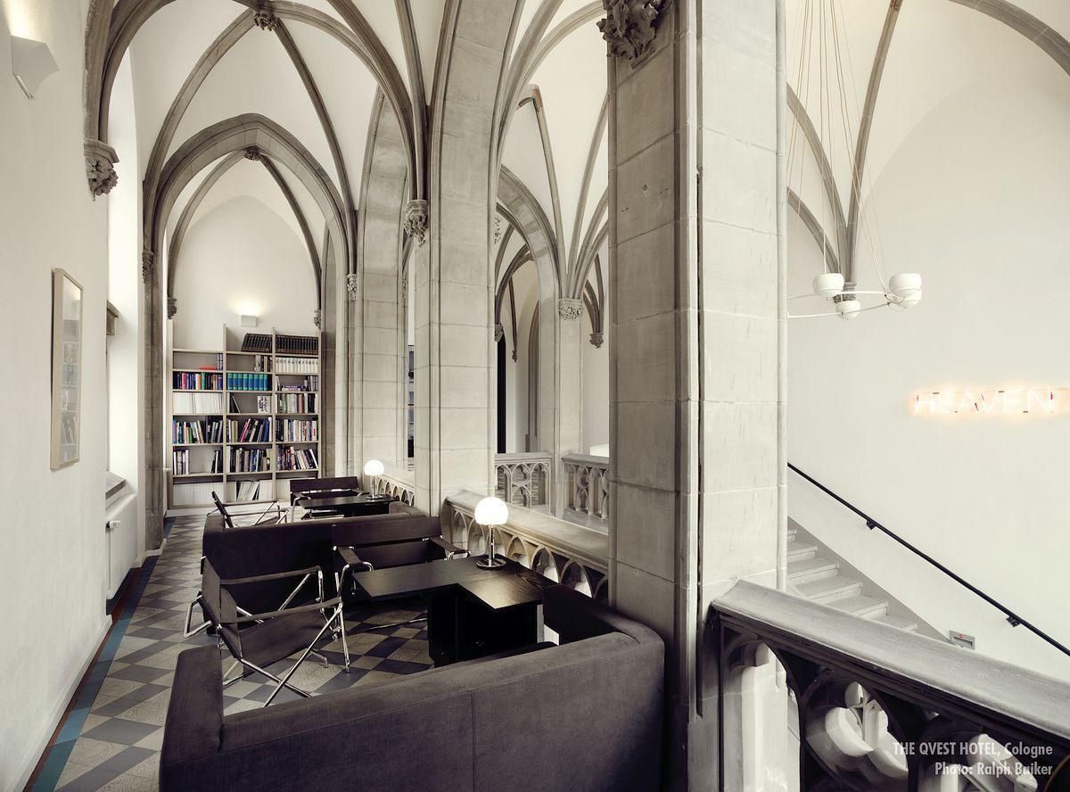 QVEST Hotel Modern Design In Neo Gothic Architectural Building