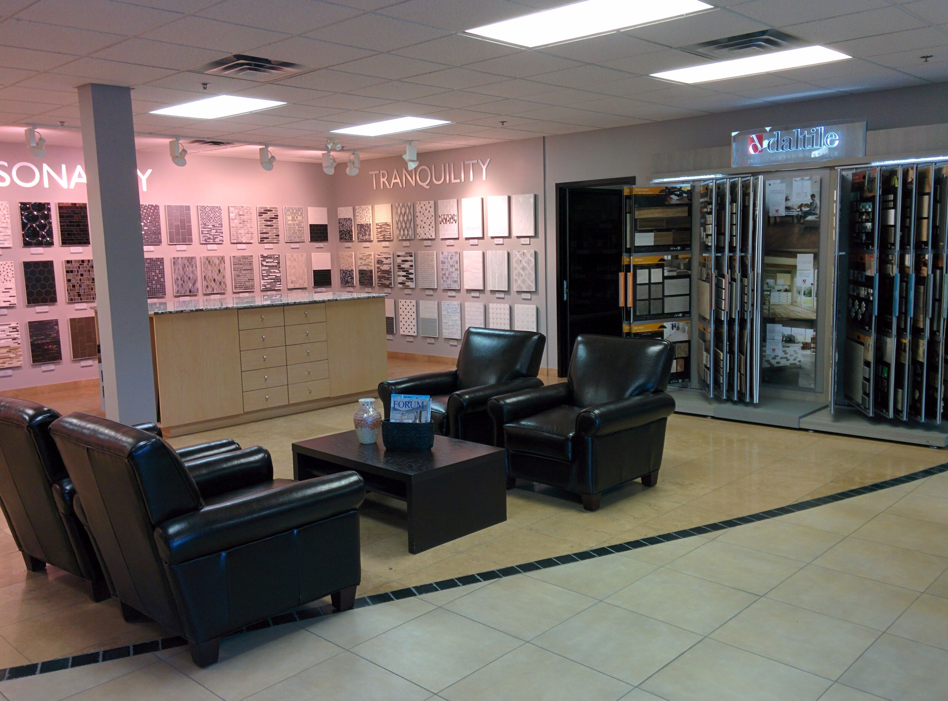 Daltile Sales Service Centre Toronto featuring tile and
