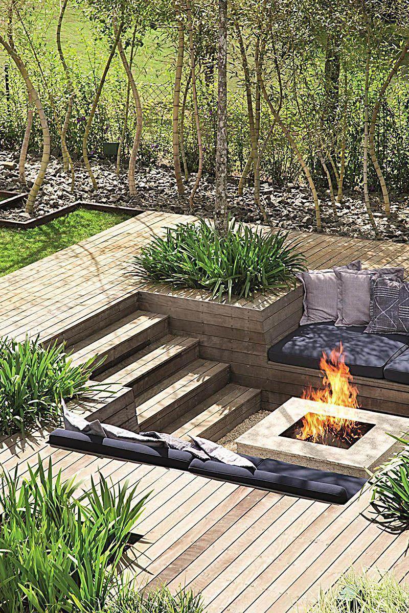 Garden With Fire Pit Patio De Quintal Lareira No Jardim Fogueiras Ao Ar Livre