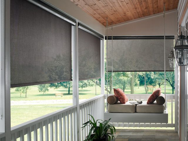 5 Tips On Choosing Outdoor Roller Blinds Porch Shades Exterior