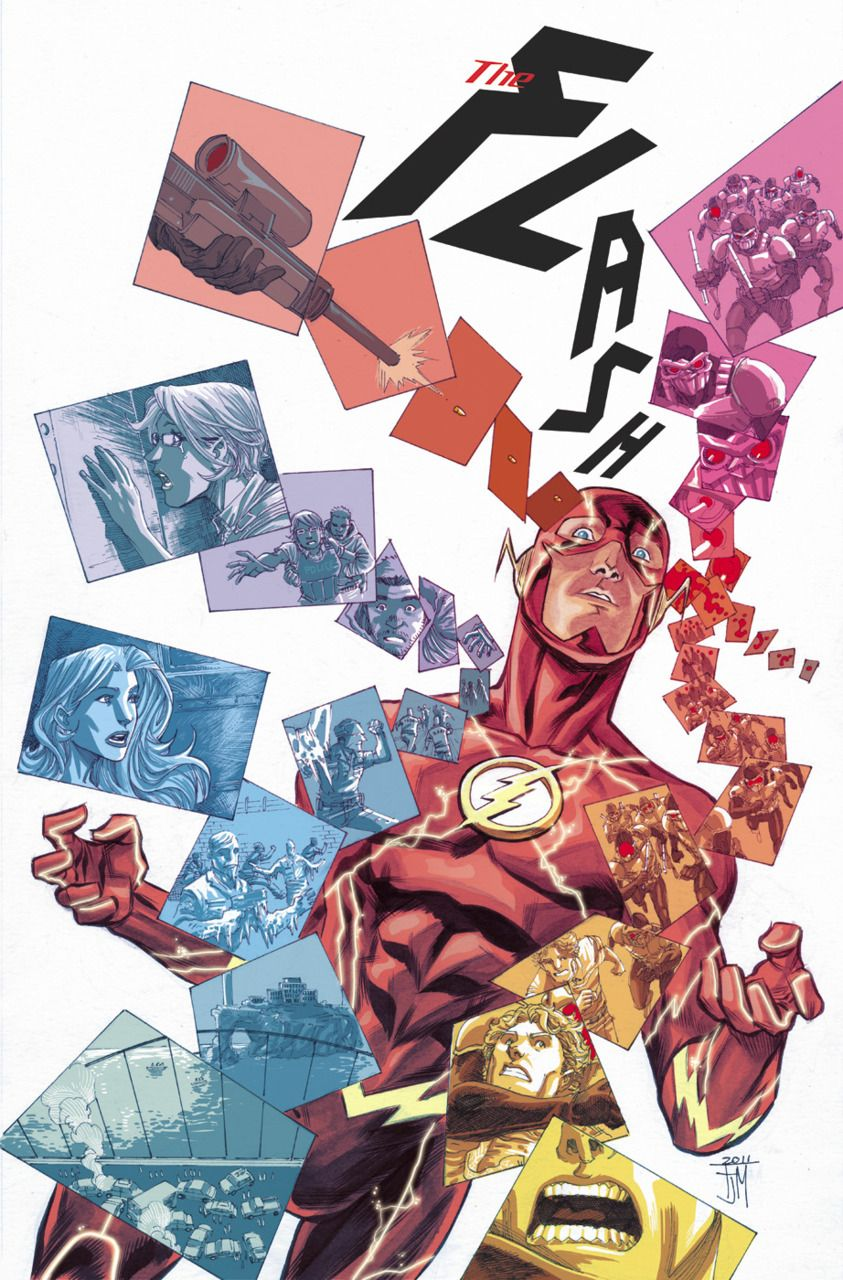 Francis Manapul on The Flash, I'm hooked for a bit.