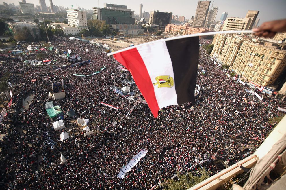 Egyptians Gather In Tahrir Square To Mark Anniversary Of Uprising Tahrir Square Egyptian History Big Picture