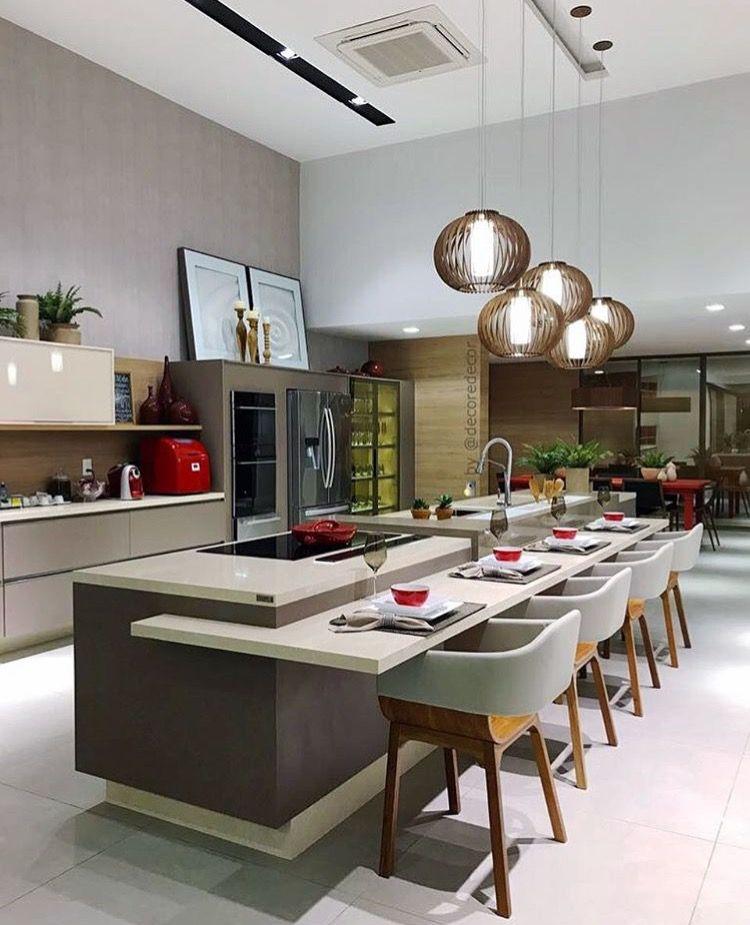 Küchen Modern, Küchenrenovierung, Moderne Küchen, Traumküchen, Ideen Für  Die Küche, Kücheninsel Tisch, Kochinseln, Beste Küchenentwürfe, ...