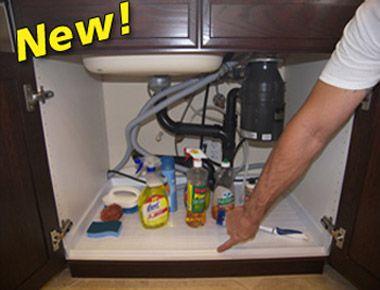 Mama Wants The Slide N Fit Sink Vanity Base Protector Is