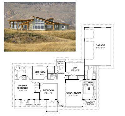 planos de casas ecologicas planos de casas modernas On planos casas rusticas pequeñas