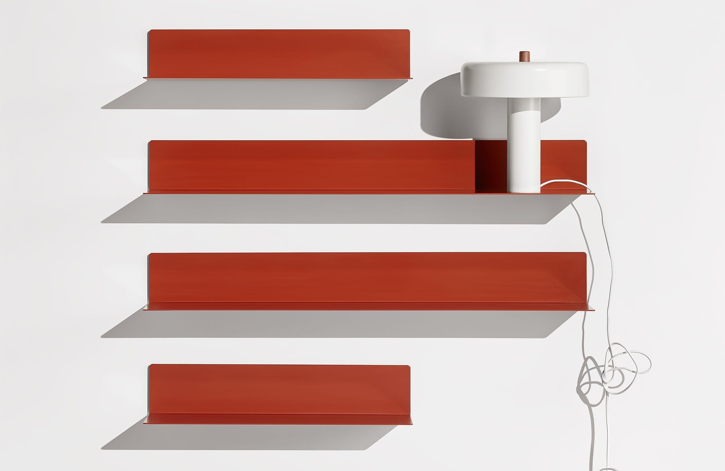 new product 9f1fa 83b10 Welf Small Wall Shelf, Blush | FURN: Shelves | Metal ...