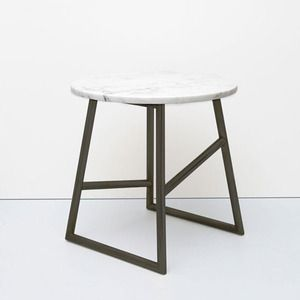 Algedi Table, Black and Marble by Iacoli & Mcallister
