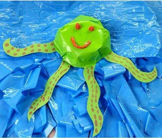 Ocean animal craft ideas | funnycrafts | Ocean animal craft ideas ...