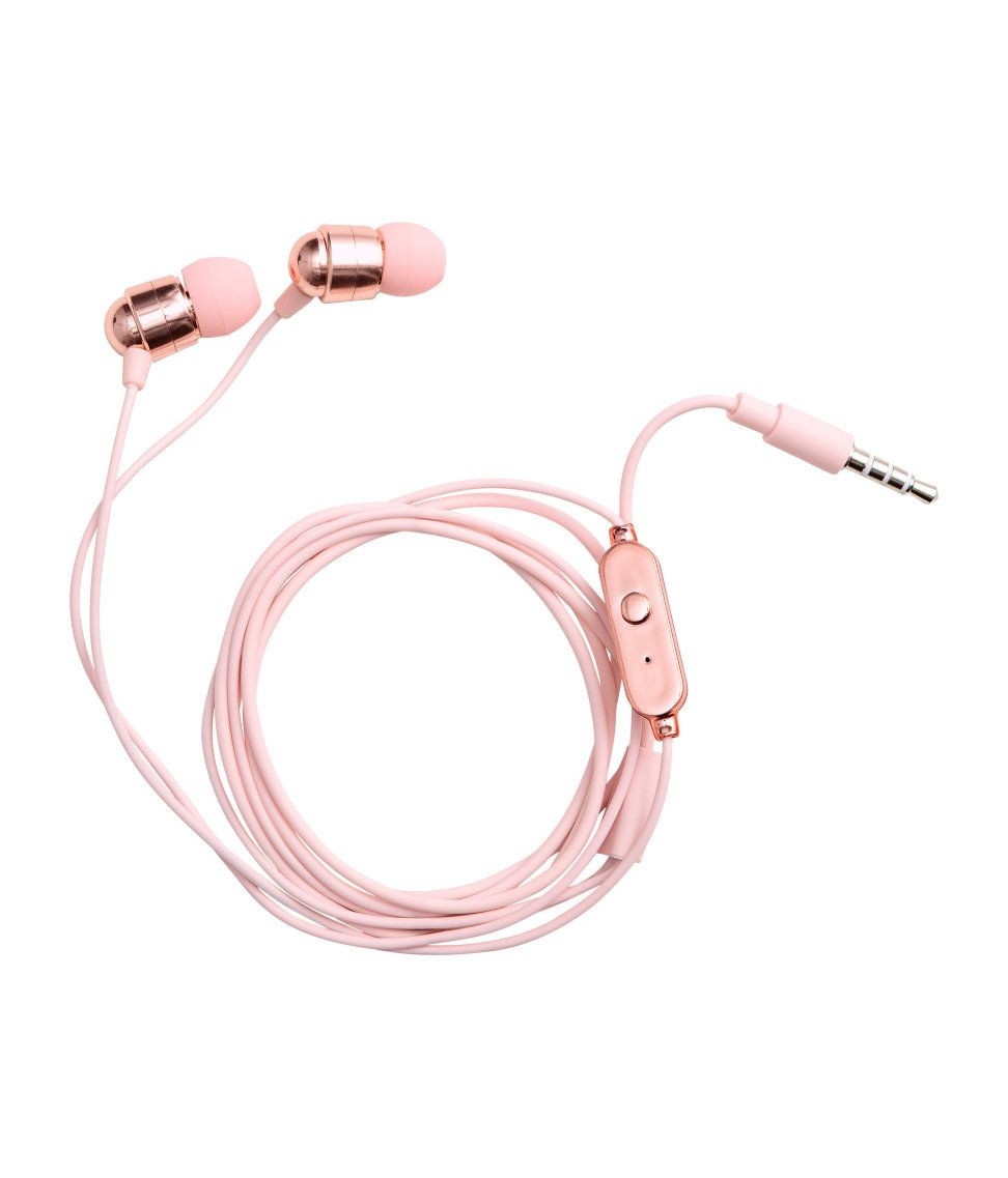 Check This Out Plastic In Ear Headphones For Mobile Devices With A 3 5 Mm Socket Total Length 47 1 4 In Visi Cute Headphones Headphones Iphone Accessories