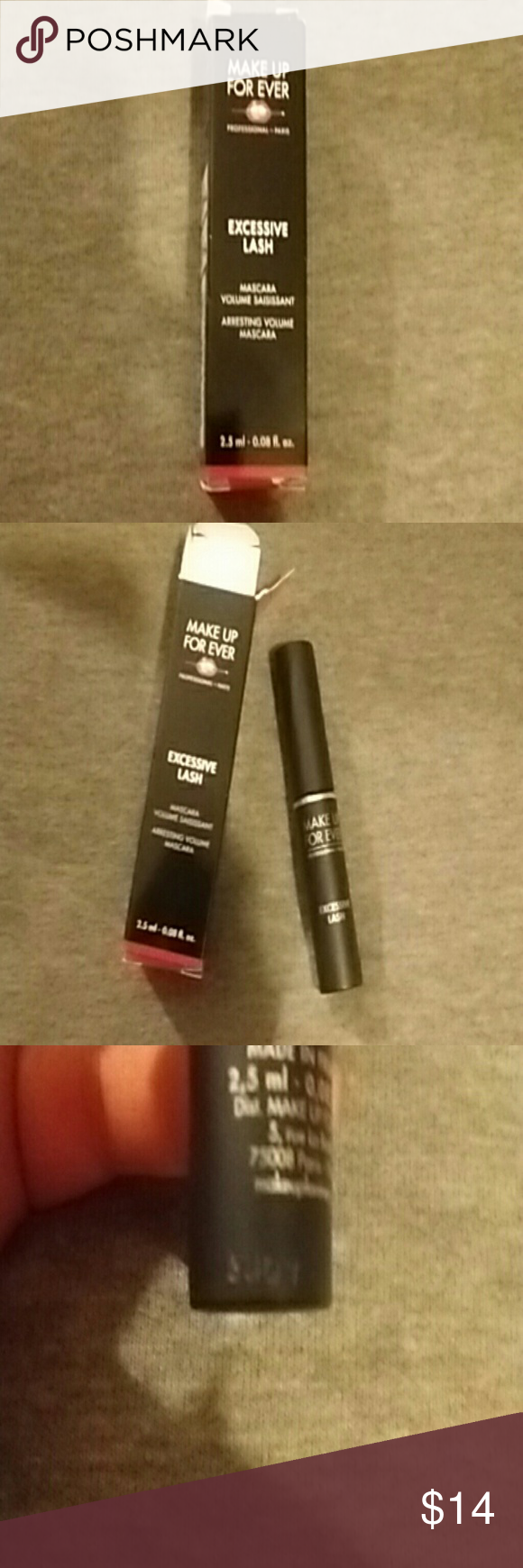 Mascara Mini sized. Makeup Forever brand. Excessive Lash