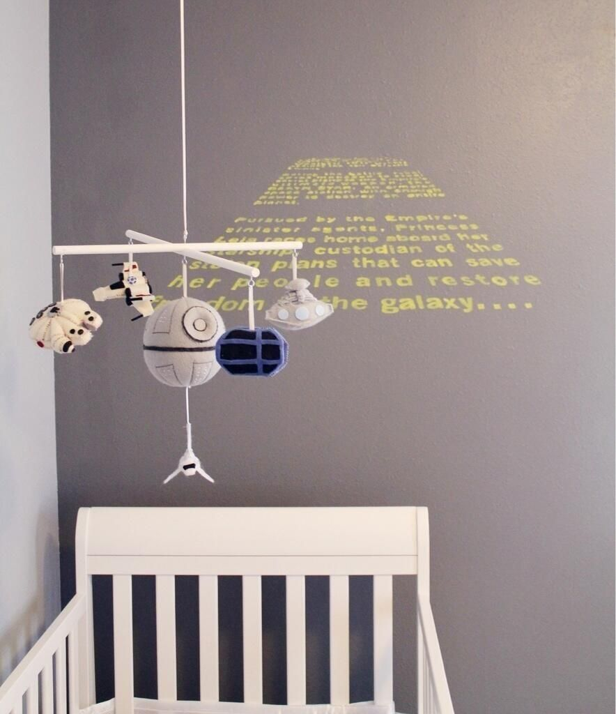 Star Wars Nursery If You Know The Source Please Comment