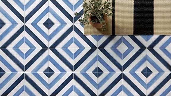 Geometric Patterned Floor Tiles Kalafrana Ceramics Sydney Encaustic Porcelain Tile Floor Outdoor Tiles Floor Tiles Wall Restaurant
