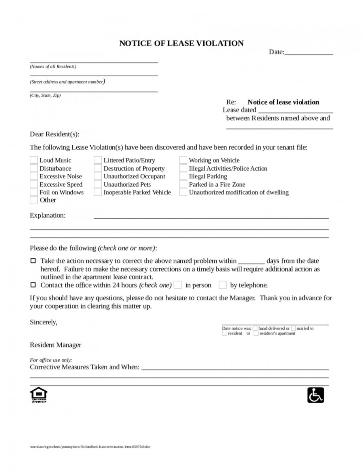 Get Our Image Of Tenant Eviction Letter Template Lettering Letter Templates Being A Landlord