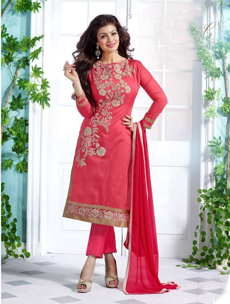 aef37f74b Buy ladies party wear unstitched dress material online in India. ✯Dress  Material ✯Free Shipping ✯COD ✯30-Day Returns.