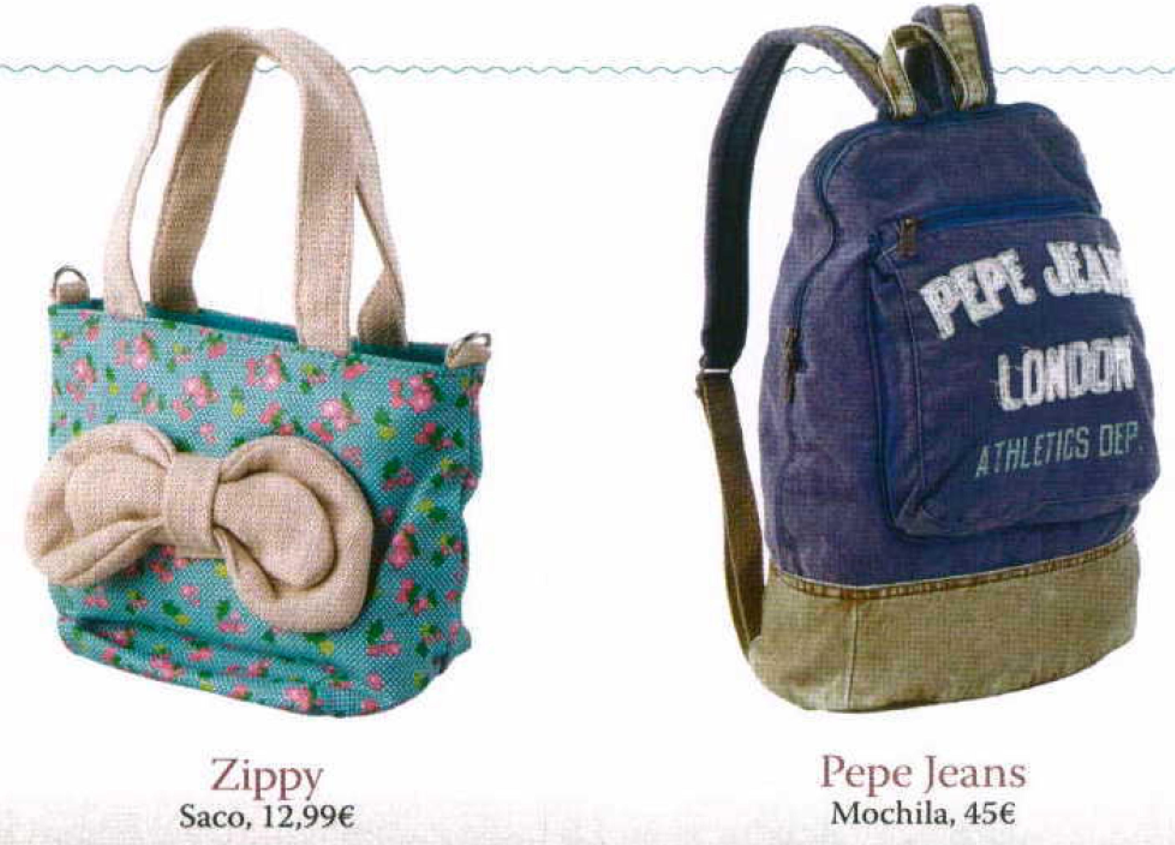 Tote & backpack