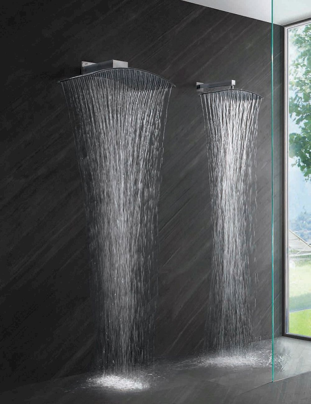 Luxurious Bathroom With Rain Shower Rain Shower Bathroom Best
