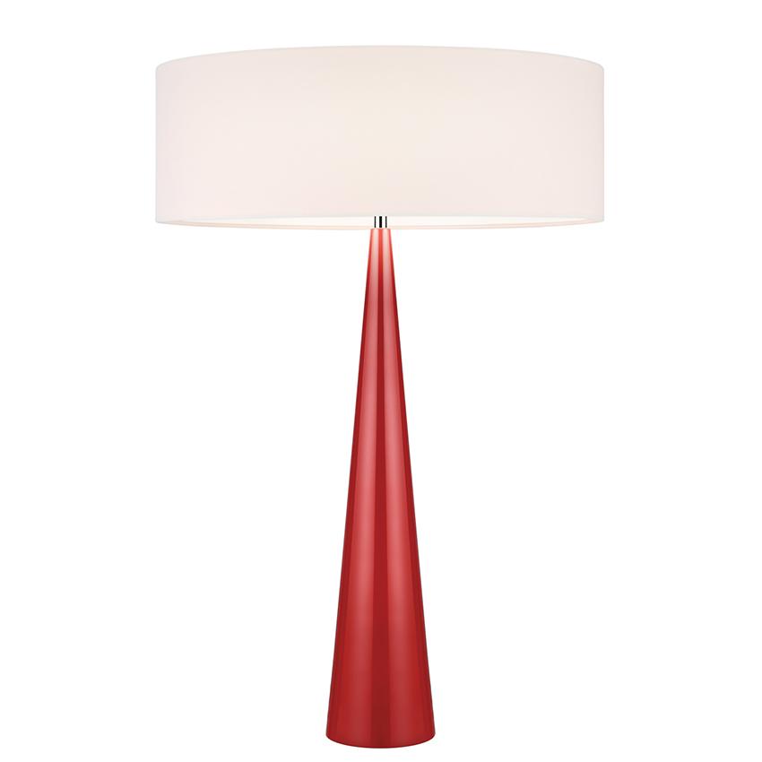 Sonneman Big Table Cone Table Lamp Lamp Red Table Lamp