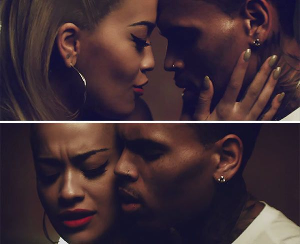 Rita Ora  Chris Brown Get Hot  Steamy In Their New Music -1032