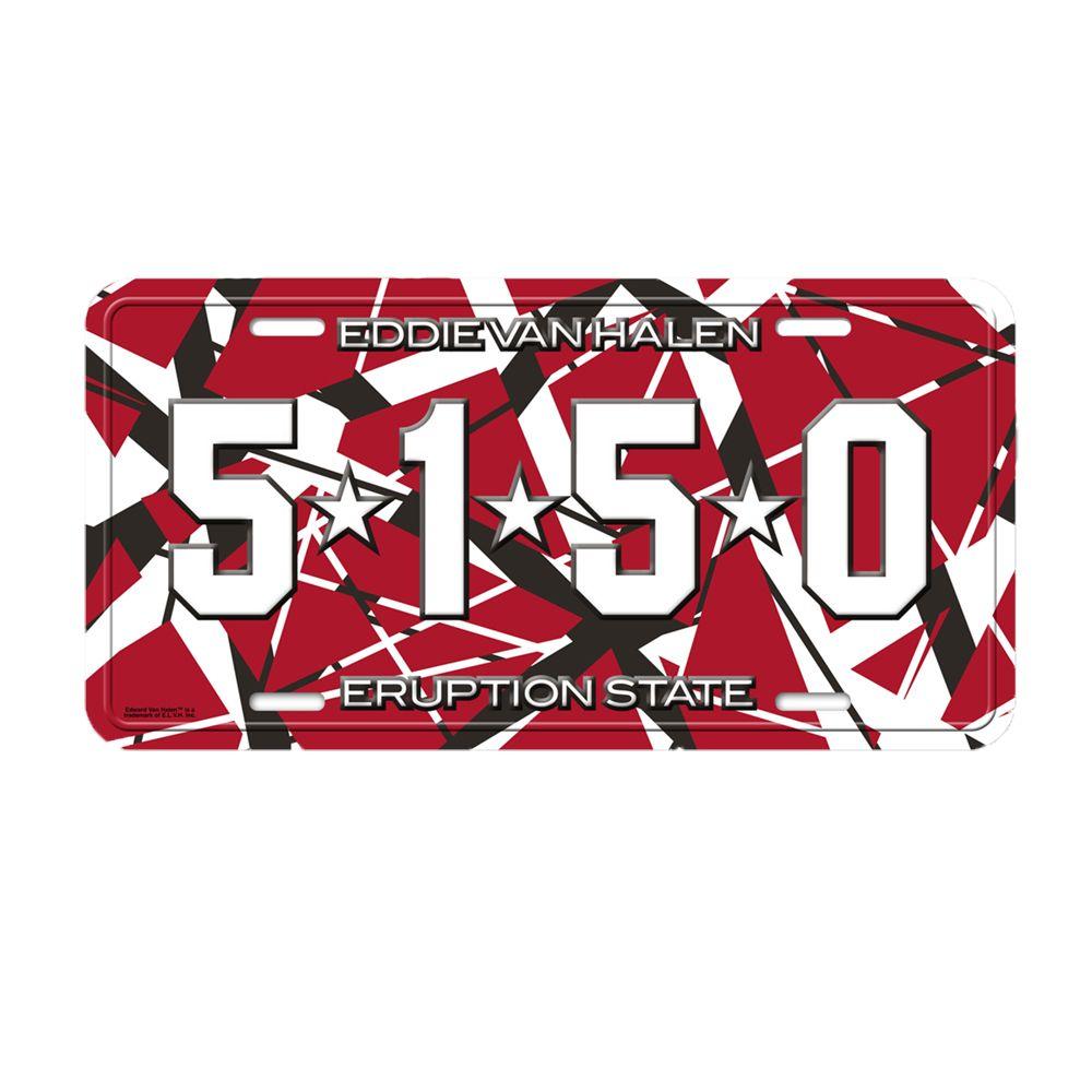 5150 License Plate
